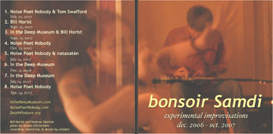 bonsoir samdi CD cover